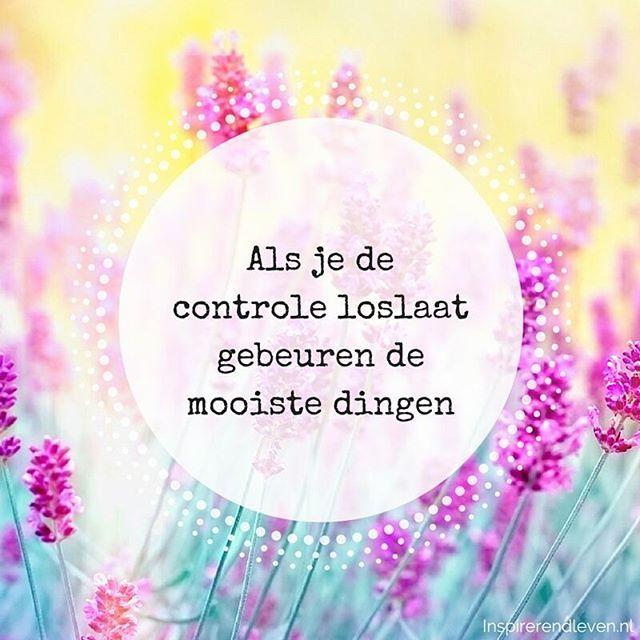 #controle #loslaten