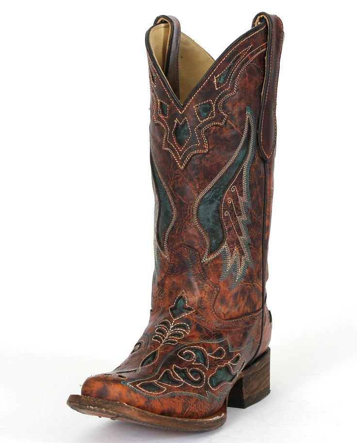 square+toe+cowboy+boots+for+women | ... Square Toe Boots :: Western :: Pull-ons :: Ladies Cowboy Boots