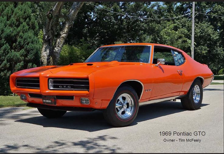 158 Best Pontiac GTO Images On Pinterest Vintage Cars