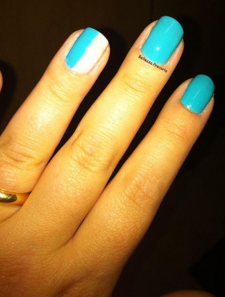 http://bellezzaprecaria.blogspot.it/2013/09/festa-tema-napoli-e-kiko-nail-lacquer-n.html #nails #kiko #kikomilano #kikomakeup #kikocosmetics #nailpolish #nailart