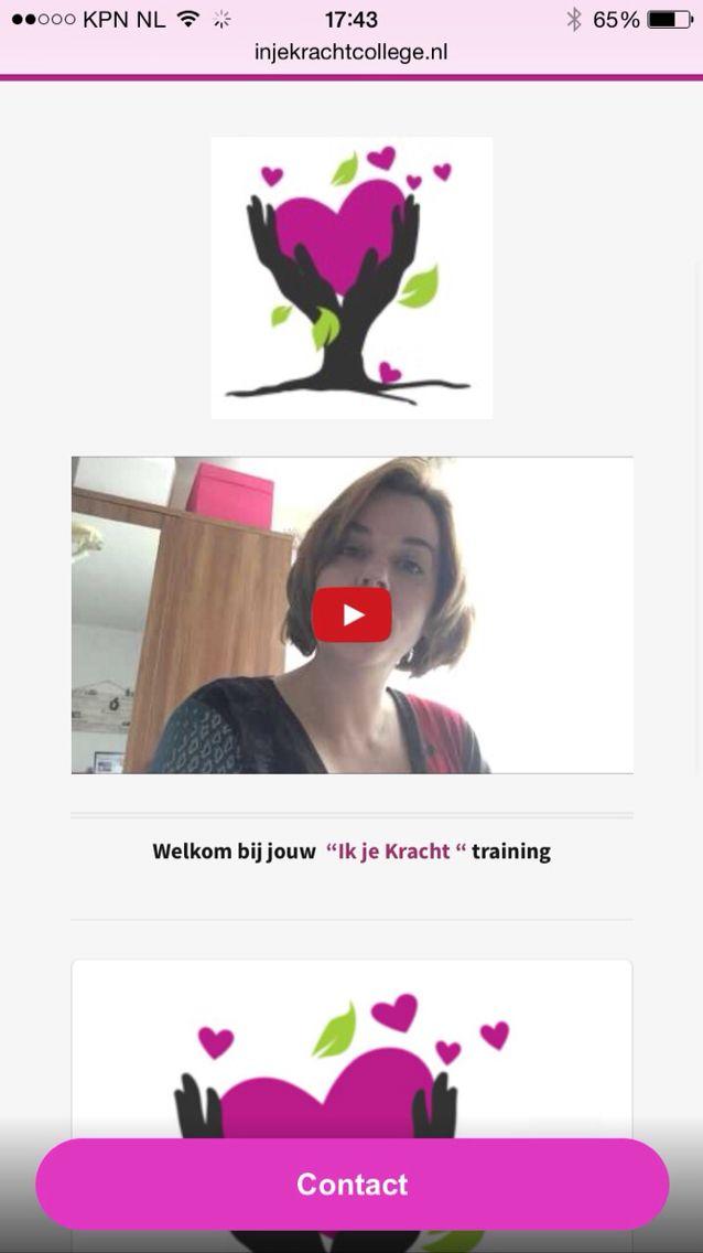 Start In je Kracht training