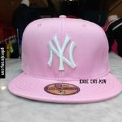 New Era Cap – NY New York Yankees – Pink White  Visit our webstore to grab it!!  #newera #topi #caps #hats #baseball #mlb #skateboard #hiphop #bboy #dance #59fifty #fitted #snapback #losangeles #la #dodgers #gelorajersey