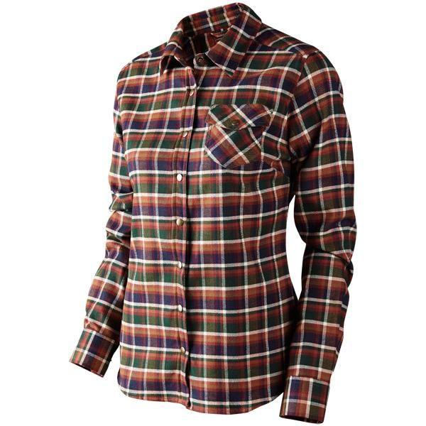 Harkila Kalli Ladies checked shirt #harkila #ladiesshirt #checkedshirt #countryclothing   http://www.ardmoor.co.uk/harkila-kaali-lady-shirt-14-01-086-98
