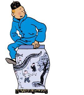 Les Aventures de Tintin - Le Lotus bleu