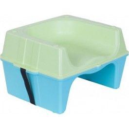 Infa Secure Hi Diner Booster Chair - Blue & Green