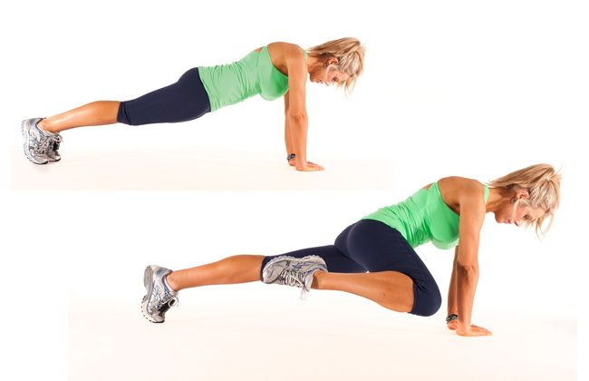 Target your triceps, abdominals, deltoids, pectoral, shoulders with the Diamond Lizard workouts