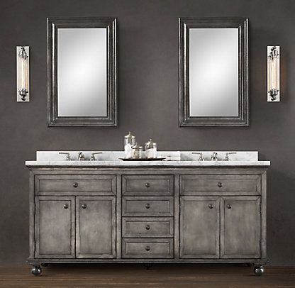 hardware for bathroom cabinets best 25 restoration hardware bathroom ideas on 18668 | 23451201e2cb5029e9ba460938719cab grey bathroom cabinets bath cabinets