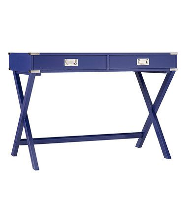 Look what I found on #zulily! Twilight Blue Concord Campaign Desk #zulilyfinds