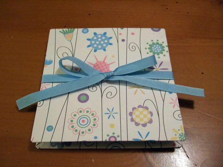 Как сделать книжку открытку своими руками из картона