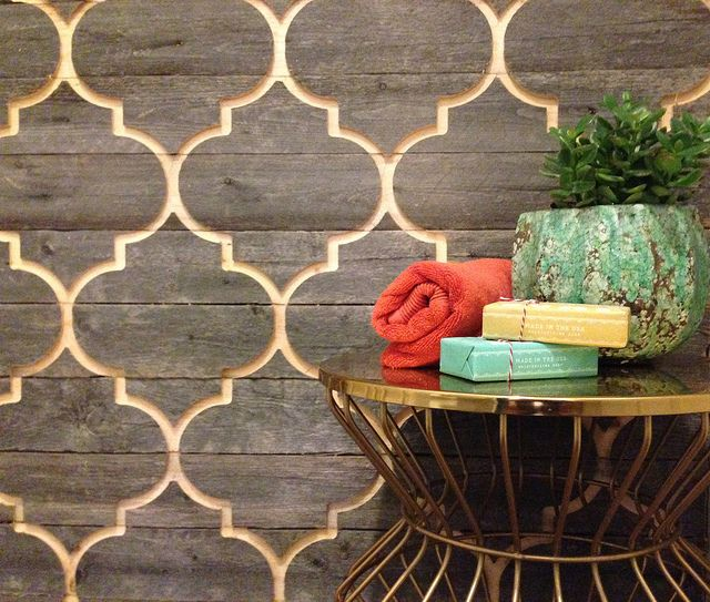 """""""Moorish Wood Wall."""" Are you kidding me with this?! <3"""