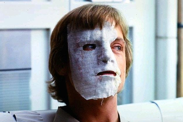 I knew Mark Hamill had been in a car accident!!! 58 Facts You Probably Didn't Know About The Star Wars Movies.  May the facts be with you.