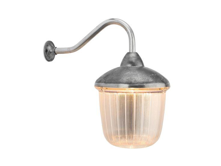 Lampada da parete in alluminio e vetro 100509 - THPG