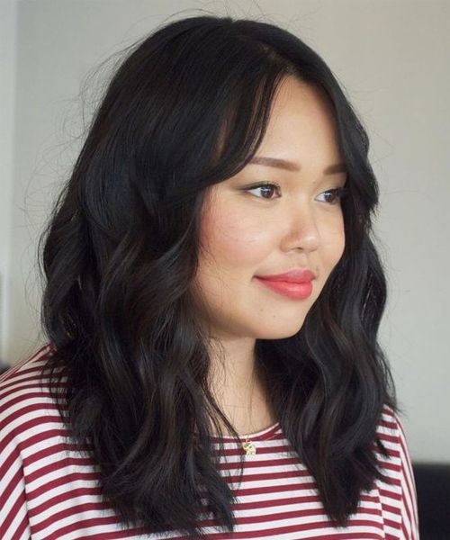 Prettiest Mid Length Hairstyles 2019 For Asian Women With Round