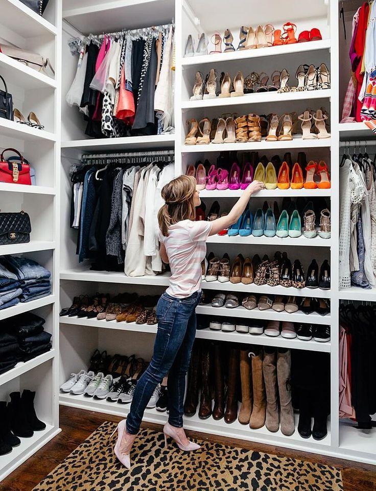How To Spring Clean Your Entire Life Brightontheday Bedroom Organization Closet Closet Designs Closet Decor