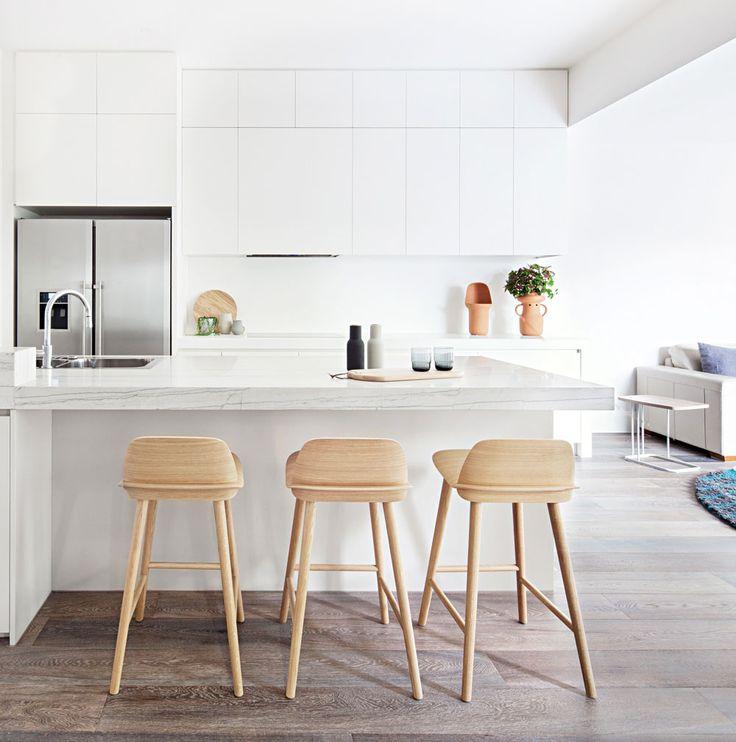 25 Best Ideas About Modern White Kitchens On Pinterest