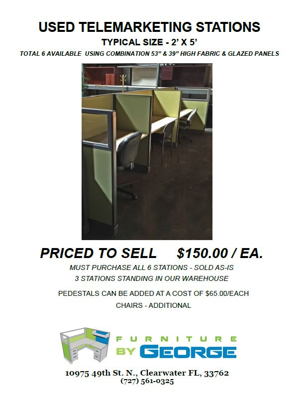 Used Office Furniture Clearwater #33: Monthly Office Furniture Specials | Clearwater, Tampa, St. Petersburg
