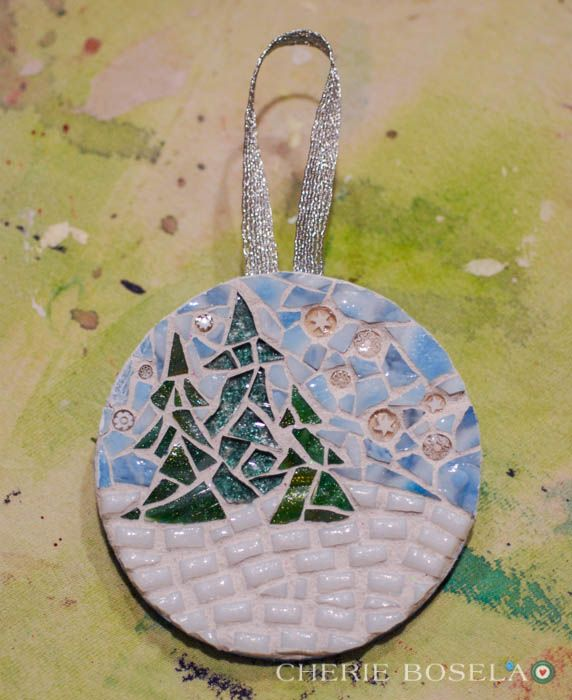 115 Best Images About Christmas Mosaics On Pinterest