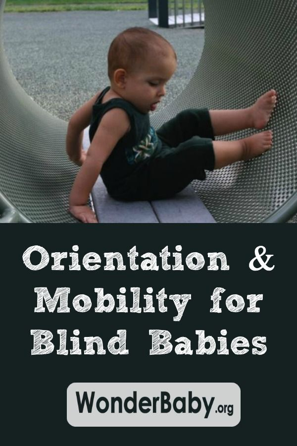 Orientation and Mobility is only for blind kids who can walk, right? Wrong!