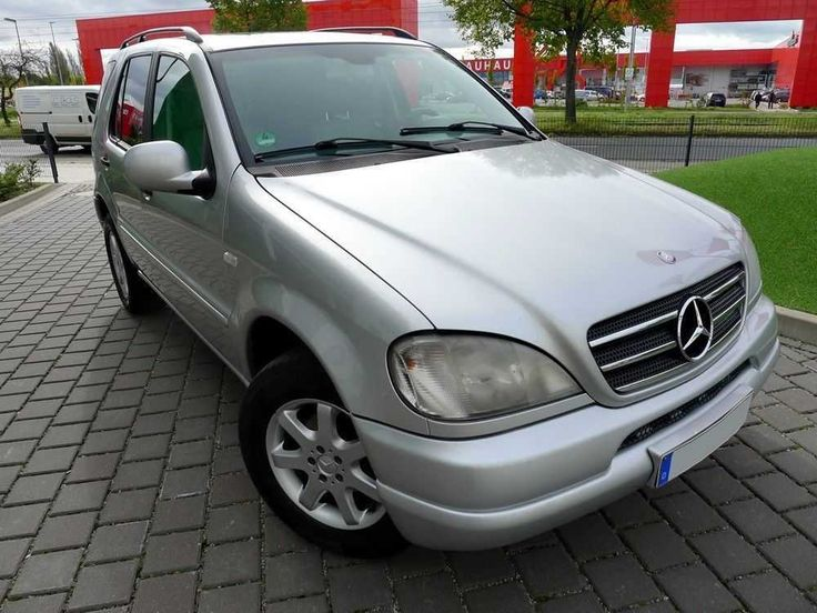 Mercedes Benz ML 270 CDI silber