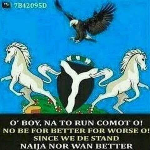 Austine Media Blog: OMG!!! Even Nigeria Coat Of Arm Has Disintegrated http://www.austinemedia.com/2016/07/omg-even-nigeria-coat-of-arm-has.html?spref=tw