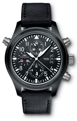 *men's apparel, men style, watches* - IWC Top Gun Pilot Double Chronograph