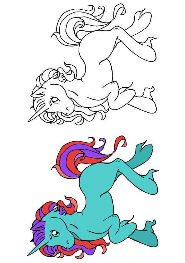 Top 25 Unicorn Coloring Pages For Toddlers (With images ...