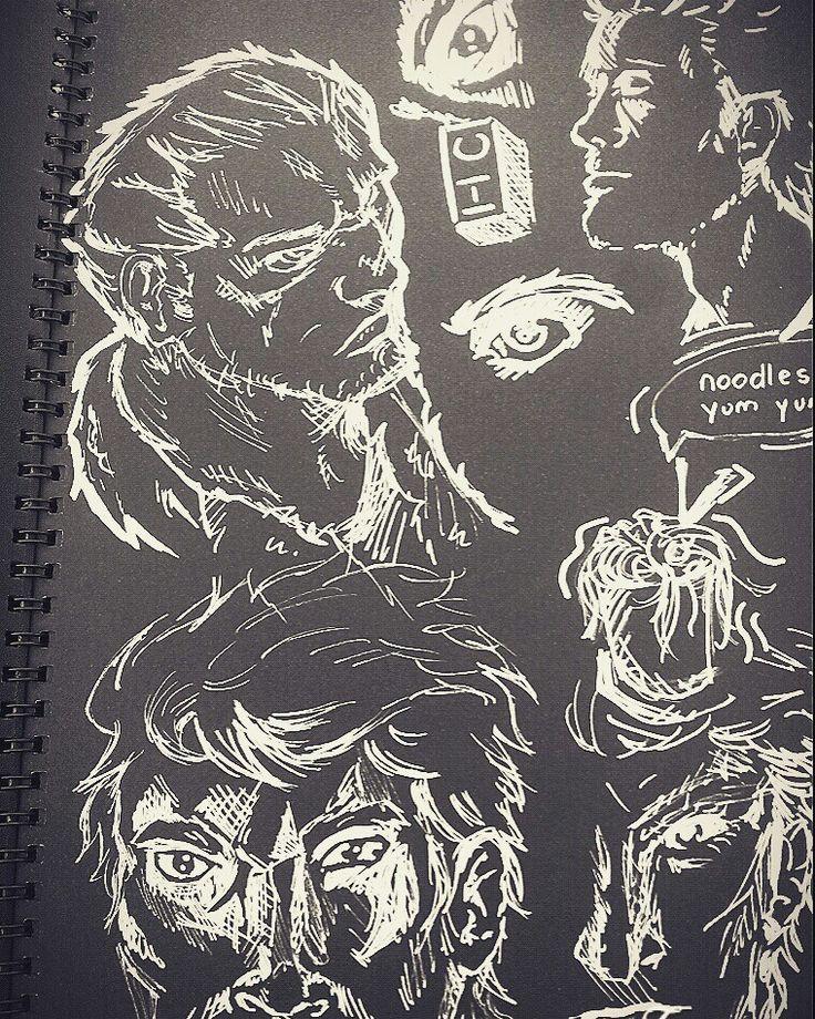 Random drawings by animeniacKING