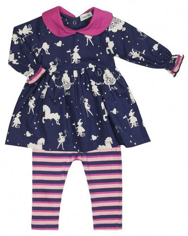 Lilly +Sid Childrens Designer Clothes Panto Dress + Leggings - Dandy Lions Boutique http://dandylionsboutique.co.uk/collections/baby-girl-dresses/products/lilly-sid-childrens-designer-clothes-panto-dress-leggings-set