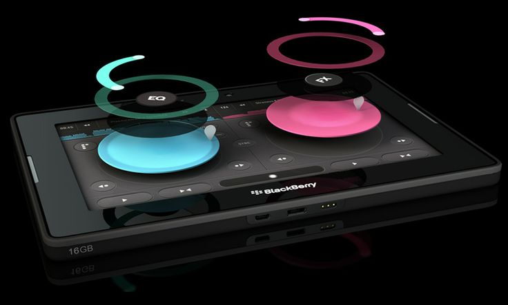 Pacemaker - DJ Software for the Blackberry PlayBook only..!!  - This Software is amazing and via Bluetooth the DJ can now enjoy the party as well...!!  (well y'know)