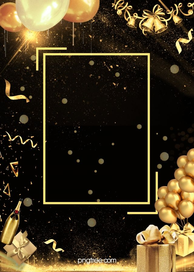 Simple Black Gold Wireframe Party Background Party Background Black And Gold Invitations Black Gold Party