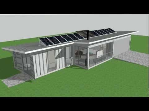 isbu aussie bush retreat shipping container house youtube - Sea Containers Homes