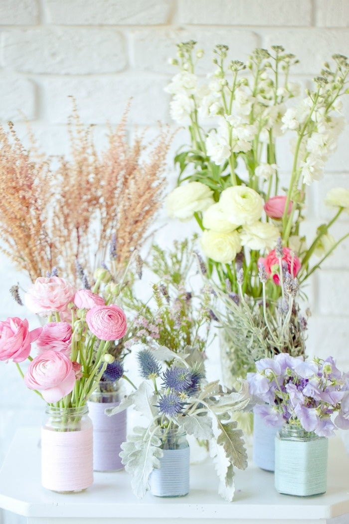 Lovely pastel flowers