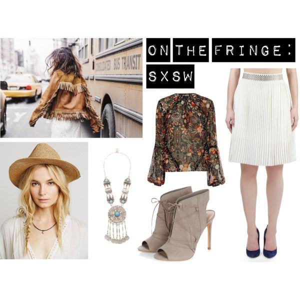 On The Fringe: SXSW by nineteenthamendment on Polyvore featuring polyvore, fashion, style, Exclusive for Intermix, Turkish Delight and clothing
