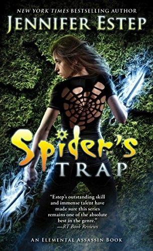 """""""Spider's Trap""""  ***  Jennifer Estep  (2015)"""