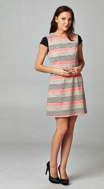 Babydoll Stripe dress