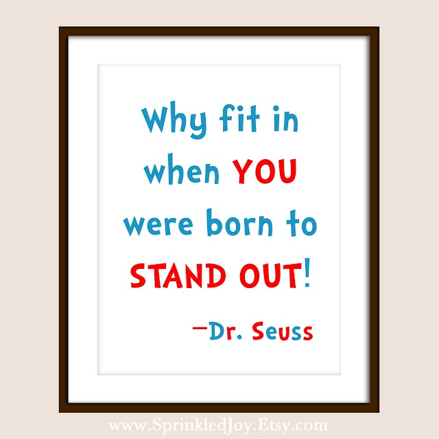 I think this quote is a great remindera reminder that who we are is enough, and to be proud of ourselves, our quirks and the things that make us unique should be CELEBRATED:)