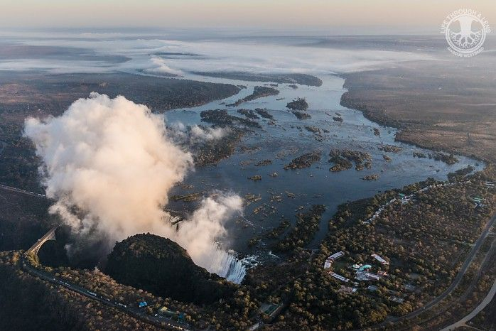 Victoria Falls and the upper Zambezi River © Life Through A Lens Photography