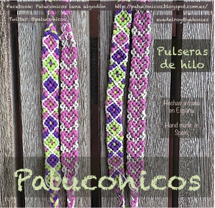 TwO FriendShip braceleT foR twO Little sisters https://www.facebook.com/pages/Patuconicos-lana-y-algodón/133197553517428?ref=hl  https://twitter.com/patuconicos/media
