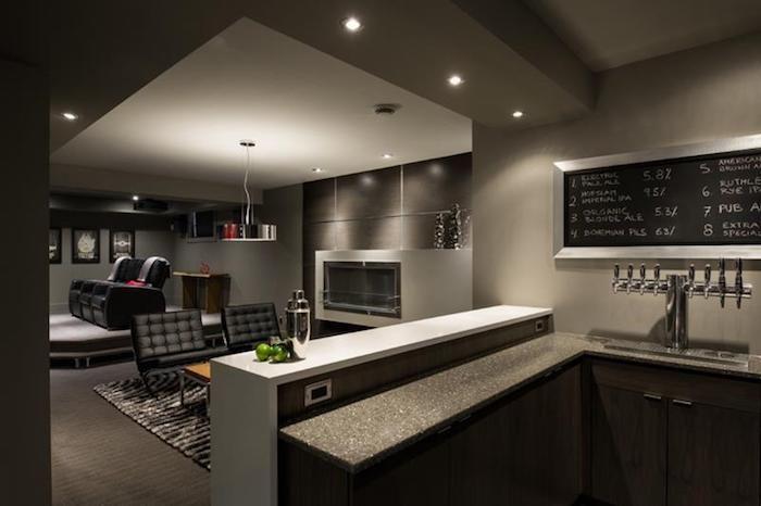 Keller ausbauen zusätzliche Wohnfläche gewinnen dunkle Farben nicht zu empfehlen lieber helle Farbtöne