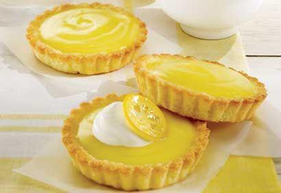 Tartelettes au citron et à la crème
