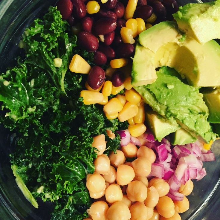 Chop Salad & Avocado Dressing