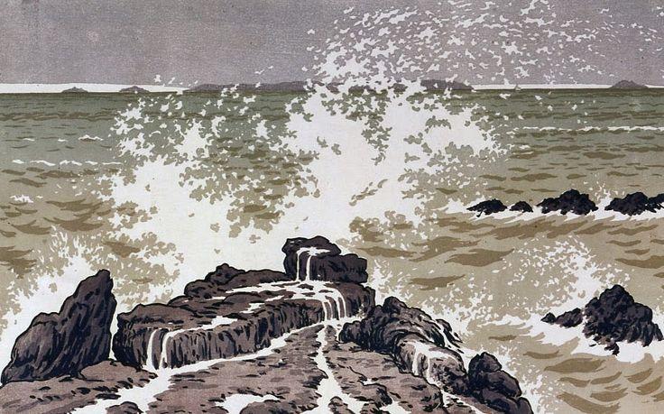 Le Prince Lointain: Henri Rivière (1864-1951), La Tempête - 1891