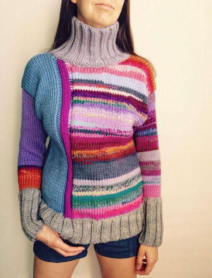 Купить Москва-Петушки - ирис, вязайн, свитер унисекс, цветок вязаный, свитер женский