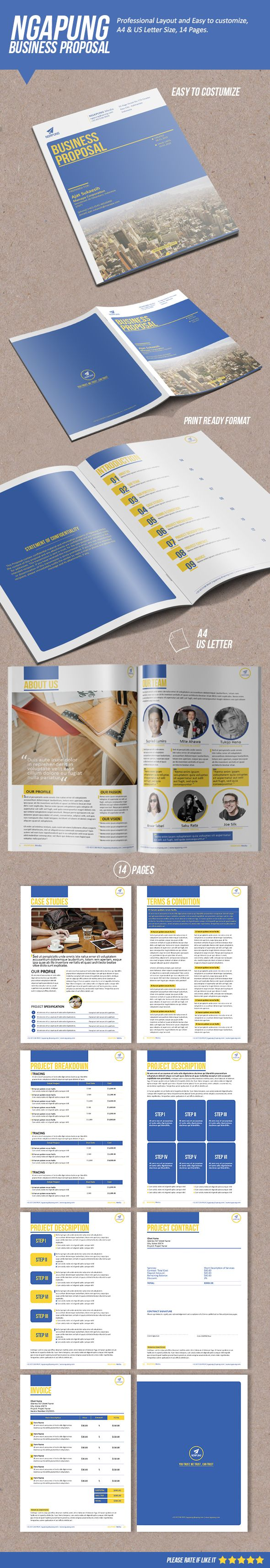 Ngapung Business Proposal on Behance