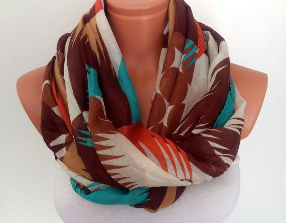 Silk Chiffon Scarf For Her Summer Scarf by SuHandmadeStore on Etsy