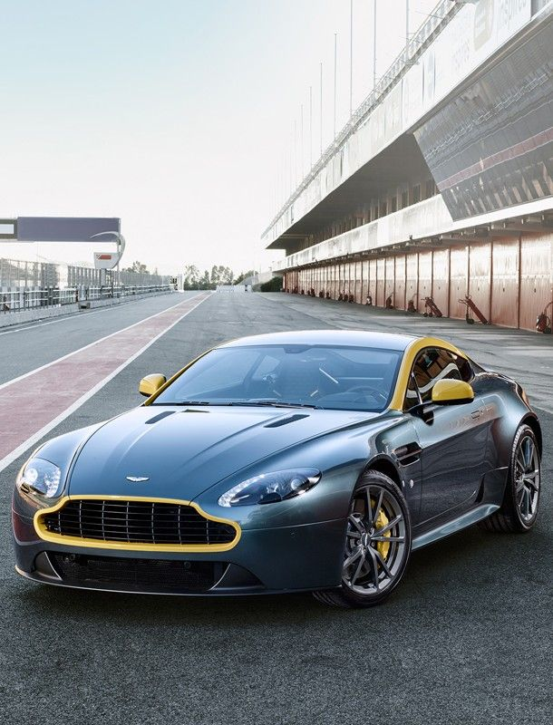 Aston Martin Vantage.  Car of the Day: 30 September 2014.