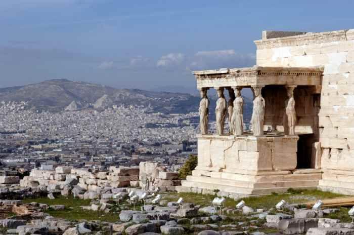 Athens, Greece Temple on acropolis