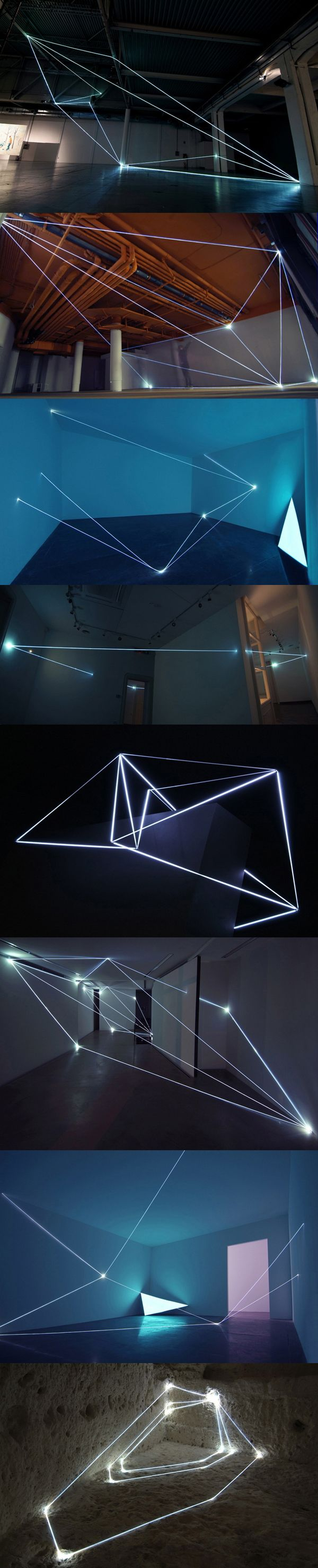 Carlo Bernardini - light installation