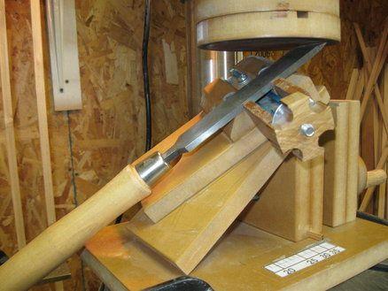 Homemade Sharpening Station Ferram Manual Hand Tool