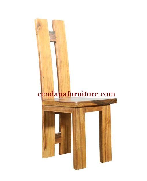 Kursi Makan Cafe Minimalis Trembesi memiliki tampilan berdesign minimalis terbuat dari bahan baku kayu trembesi dengan finishing melamin natural yang indah.
